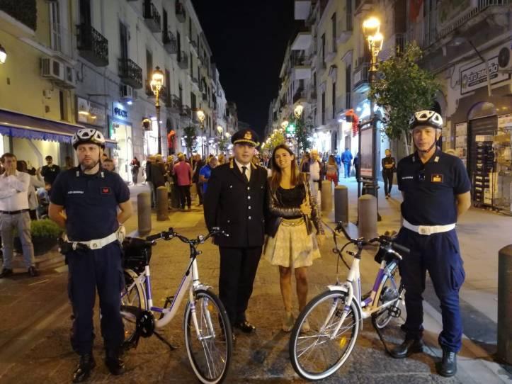 Vigili in bici