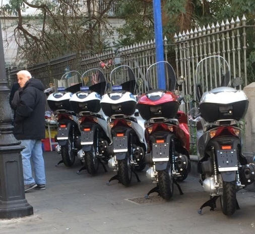 scooter Polizia Municipale