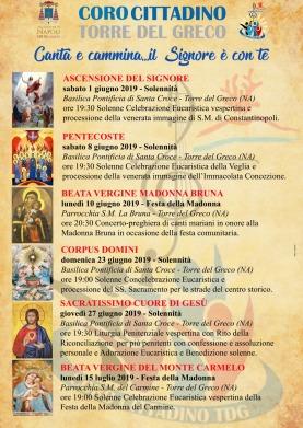 Calendario Greco.Sei Concerti Per Il Coro Cittadino Di Torre Del Greco