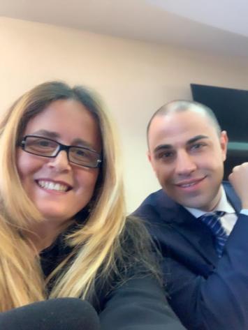 Michele Langella e Anna Vitiello